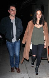 Olivia Munn - at Craig's Restaurant in West Hollywood 12/8/13