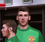 Pes 2014 David de Gea Face by Behin