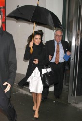 Eva Longoria - out in NYC 12/10/13