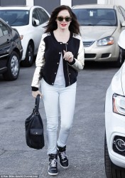 Rose McGowan - out in LA 12/10/13