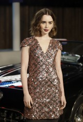 Lily Collins - Chanel Metiers d'Art Show in Dallas 12/10/13