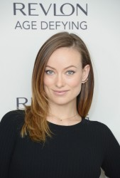 Olivia Wilde -  Revlon's NEW Age Defying Collection Launch in NYC 12/11/13