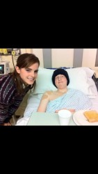 Emma Watson at a Hospital in London - December 11, 2013