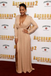 "Meagan Good -  ""Anchorman 2: The Legend Continues"" Premiere in London 12/11/13"