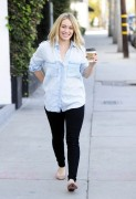 Hilary Duff - Shopping in West Hollywood 12/12/13
