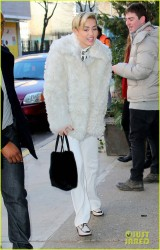 Miley Cyrus - Out in NYC 12/12/13