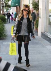 Ashley Tisdale - Shopping in Beverly Hills 12/12/13