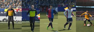 PES 2014 FC Barcelona 1999-2000 GDB Kit Set by J Dilla