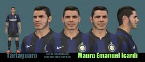 PES 2014 Mauro Emanuel Icardi Face by Tartaguaro