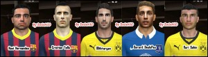 Download PES 2014 Facepack N°5 By DzGeNiO