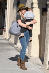 Hilary Duff - Out in LA 12/13/13