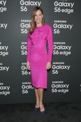 Hilary Swank - Samsung Galaxy S 6 and Galaxy S 6 edge Launch in NYC 4/7/15