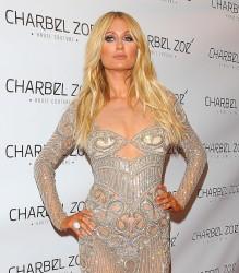 Paris Hilton - Charbel Zoe Melrose Store Opening (4/07/15)