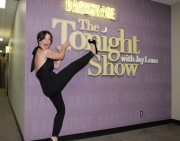 Evangeline Lilly ~ Tonight Show with Jay Leno 10/03/2011 HQ Pics