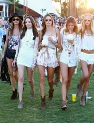 Alessandra Ambrosio - 2015 Coachella Music Festival Weekend One/Day Three 4/12/15