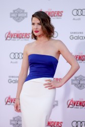 Cobie Smulders -  'Avengers: Age Of Ultron' Premiere in Hollywood 4/13/15