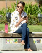 Jessica Alba  family day at the Coldwater Canyon Park in Beverly Hills April 18-2015 x18