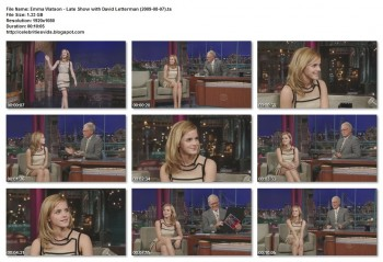 Emma Watson - Late Show with David Letterman 07-08-09 720p or 1080i