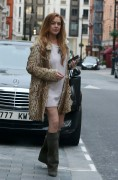 Lindsay Lohan Spoted Leaving The Conaught Hotel London  April 17-2015 x20