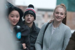 Sophie Turner - Out and About in Montreal - 04/23/2015