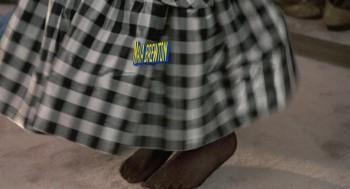 Elizibeth shoe pantyhose