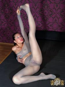 nude leg amputee girl