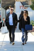 Jessica Alba Seen shopping with Cash Warren in Beverly Hills April 28-2015 x50