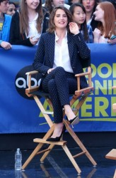 Cobie Smulders - Visiting 'Good Morning America' in NYC 4/29/15