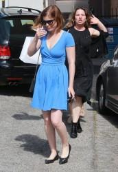 Kate Mara - Leaving a hair salon 4/29/15