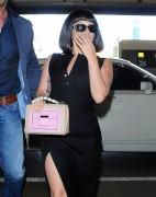 Lady Gaga - At LAX Airport 5/3/15