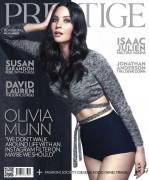 Olivia Munn - Prestige Hong Kong May 2015