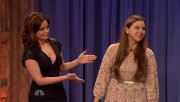 Tina Fey Plays Speed Celebrity on Late Night with Jimmy Fallon 1/10/12 (Cleave & Heels)