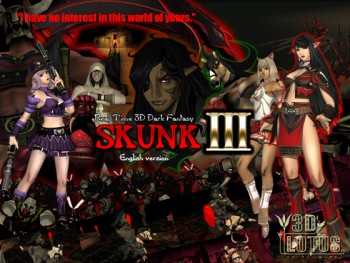 "968c51408028767 - Real-time 3D total violation fantasy ""SKUNK III"" Godkiller (English version)"