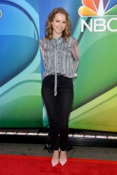 Bridgit Mendler - The 2015 NBC Upfront Presentation in NYC 5/11/15