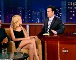 Maggie Grace on Jimmy Kimmel Oct 2005
