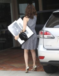 Emmy Rossum - Out & About in West Hollywood 5/27/15