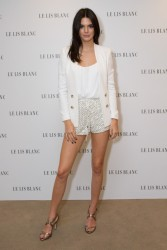Kendall Jenner - Le Lis Blanc Photocall in Sao Paulo, Brazil 5/28/15