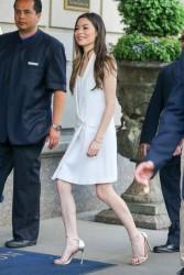 Miranda Cosgrove - Arriving her hotel in NYC 5/29/15