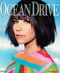 Evangeline Lilly x7 Ocean Drive January, 2015
