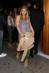 Hilary Duff - Leaving The Nice Guy in West Hollywood 6/5/15