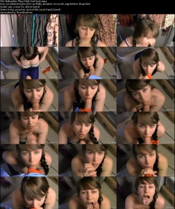 Babysitter Plays Hide And Suck