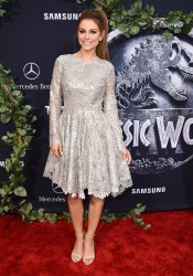 "Maria Menounos - ""Jurassic World"" Premiere in Hollywood 6/9/15"