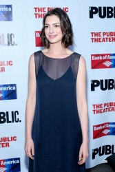 Anne Hathaway - The Public Theater's Annual Gala in NYC 6/9/15