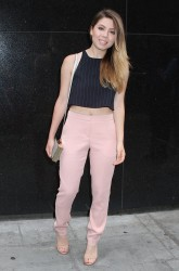 Jennette Mccurdy - Arrives at Good Day New York 06/11/2015