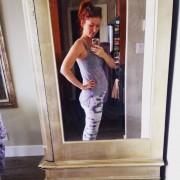 Jewel Staite - Pregnant TW/IG pics 16.6.2015 x2