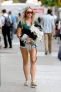 Katrina Bowden | Walking the Dog in NYC | June 22 | 15 pics + 8 Adds