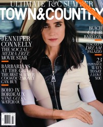 Jennifer Connelly x6 Town & Country June/July, 2015