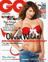 Olivia Wilde British GQ April '12 HQ's