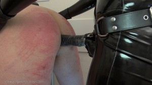 Mistress Anita Divina - Strap-on Fuck In The White Room complete