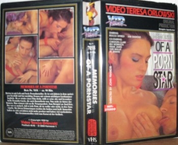 Memories Of A Porn Star (1990) – USA Vintage